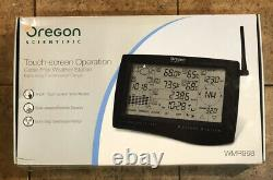 Oregon Scientific WMR968 Touch Screen Cable Free Weather Station New in Open Box