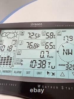 Oregon Scientific wireless weather station WMR968 plus Bonus display ultra cold