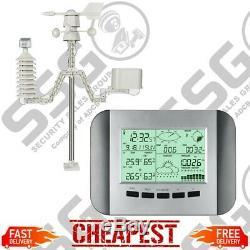 Professional Wireless Weather Station WS1041 W-Fi Colour Solar Power Radio Clock