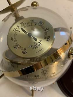RARE SPUTNIK Weather Station Hoffritz West Germany Thermometer Barometer