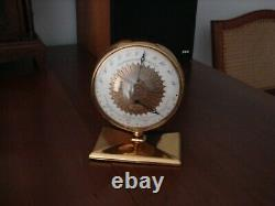 RARE Vintage LONGINES Wittnauer Desk, Shelf Weather Station TWO Sided SWISS