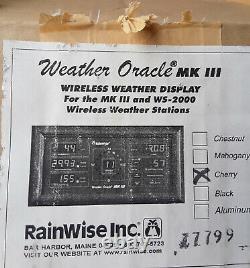 RainWise Weather Oracle MK III WIRELESS DISPLAY for MKIII & WS-2000 Stations