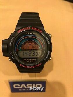 Rare Vintage Casio barometer BM-500w (943) Weather Station Japan NOS