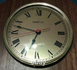 Rare Vintage Kroger Weather Station Clock Thermometer Humidity Gauge -france