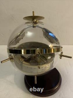 SPUTNIK Hoffritz Weather Station West Germany Thermometer Barometer RARE