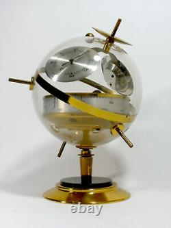SPUTNIK WEATHER STATION BAROMETER THERMOMETER HYGROMETER 1960s SPACE AGE GERMANY