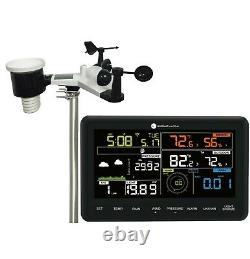 Smart WiFi Weather Station Indoor Outdoor with Remote Monitoring and Alerts