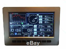 Solar Powered Wireless WiFi Weather Station Professional Model HP1000