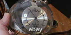Sputnik Globe Sphere Weather Station Germany Hygrometer Barometer with box
