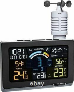 TFA Wireless Digital Radio Weather Station with Anemometer Spring Breeze 35.1140