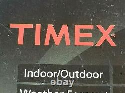Timex Wireless Indoor/Outdoor Weather Station & Atomic Digital Clock #80280