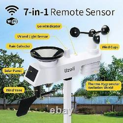 Uzoli Professional Weather WiFi Smart Weather Station