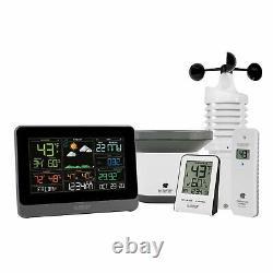 V30-WRTH La Crosse Technology WiFi AccuWeather Weather Station with Wind & Rain