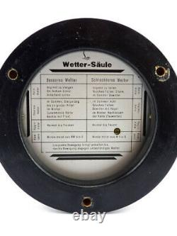 Very nice Lufft weather station from the 1960's