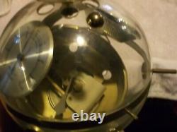 Vintage 1960s West German Sputnik Table Hygrometer Barometer Weather Station