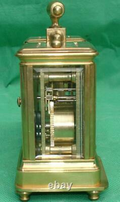 Vintage 8 Day Siamese Carriage Clock Barometer Weather Station