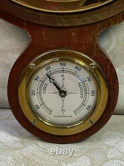 Vintage Airguide Wall Weather Station Thermometer, Barometer, & Hydrometer
