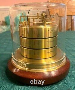 Vintage BARIGO Desk Top Weather Station Barometer Thermometer Hygrometer Germany