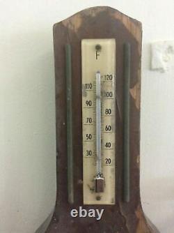 Vintage BARIGO WEATHER STATION Thermometer Barometer Hygrometer GERMANY