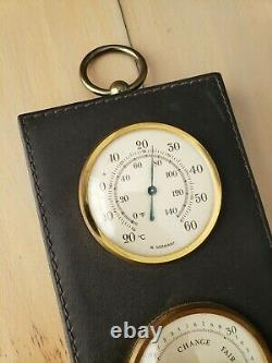Vintage Dunhill London Germany Collectible Tobacciana Weather Station Hygrometer