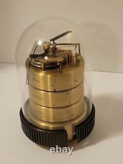 Vintage Hoffritz Brass Weather Station Barometer Thermometer Hygrometer Germany