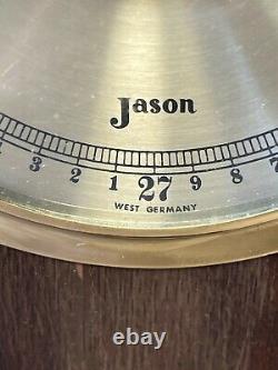 Vintage Jason Wall Weather Station Thermometer, Barometer, & Hydrometer