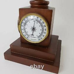 Vintage Replogle 9 World Globe Weather Station Thermometer Barometer Hygrometer
