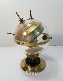 Vintage Station Weather Barometer mid-Century Modern Sputnik Germany