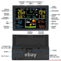WIFI Wireless Weather Station Thermometer Temperature Humidity Monitor Barometer