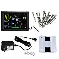 WIFI Wireless Weather Station Thermometer Wind Speed Monitoring Barometer Alert