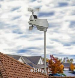 Weather Station Wireless Outdoor Indoor Forecasts Rain Gauge Wind Speed New Best