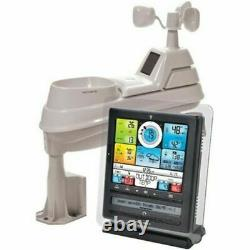 Weather Station Wireless Programmable Alarms Sensor Accurate Prediction 5-in-1
