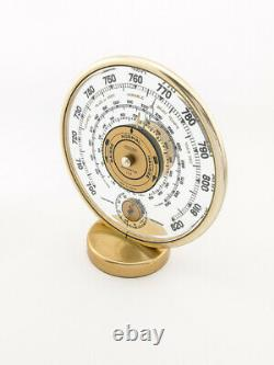 Weather Station with Thermometer Barometer Jaeger LeCoultre France from the 40's