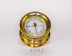 Weems Plath Marine Brass Barometer Weather Station Germany