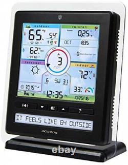 Wireless Home Station Weather Monitoring With 5-1 Sensor And Android IPhone