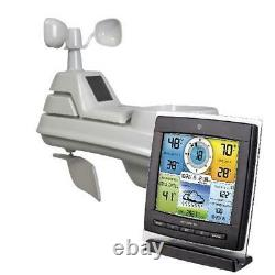 Wireless Weather Station With 5 In 1 Sensor Self Calibrating Forecasting 12-24 Hr