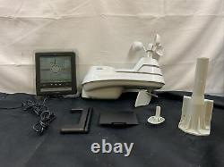 Wireless Weather Station With 5-in-1 Sensor Self-Calibrating Forecasting NEW