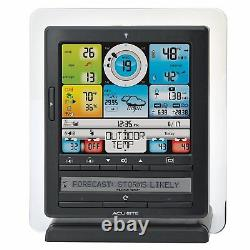 Wireless Weather Station With Color Display PC Connect Phone App Rain Wind Temp
