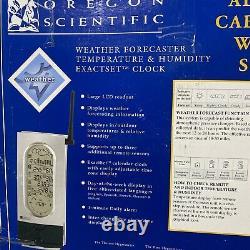 Wmr 112a Oregon Scientific Weather Forecaster Temperature Humidity Exactset