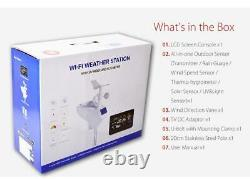 Zeus Smart Wireless WiFi Weather Station 10 in 1 With Remote Monitoring & Alerts